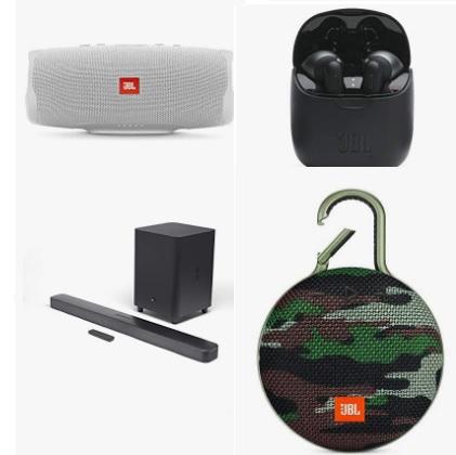 Amazon精选多款JBL 耳机、音箱大促销!