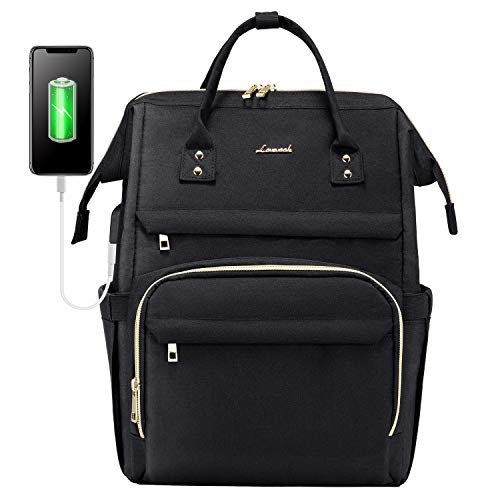Laptop Backpack for Women Fashion Travel Bags Business Computer Purse Work Bag with USB Port, price low to