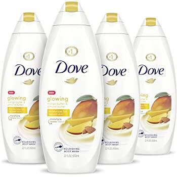 4-Count 22oz Dove Glowing Body Wash (Peony and Rose Oil)