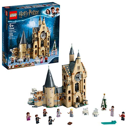 LEGO Harry Potter Hogwarts Clock Tower 75948 Build and Play Tower Set with Harry Potter Minifigures, Popular Harry Potter Gift and Playset with Ron Weasley,  (922 Pieces)