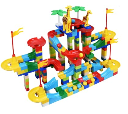 Bheddi 265-Piece Marble Run