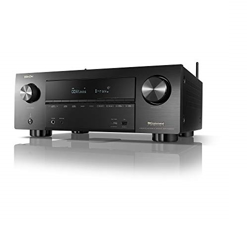 Denon AVR-X3600H UHD AV Receiver | 2019 Model | 9.2 Channel, 105W Each | NEW Virtual Height Elevation, Dual Subwoofer Outputs | Home Automation Integration & Remote Monitoring