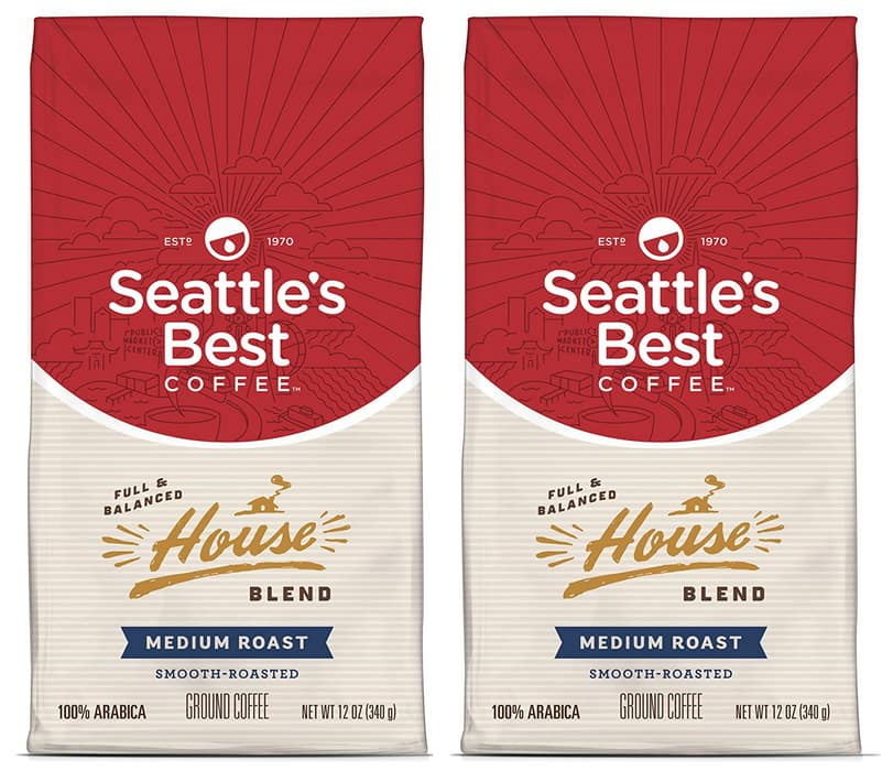 12-Oz Seattle's Best Coffee Post Alley Blend Ground Coffee (Dark Roast)