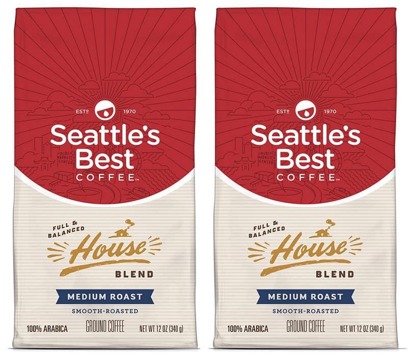 12-Oz Seattle's Best Coffee Post Alley Blend Ground Coffee (Dark Roast)