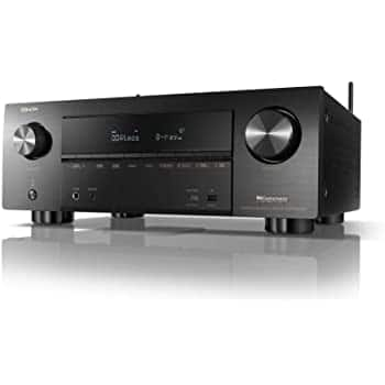 Denon AVR-X3600H 9.2-Channel Home theater Receiver