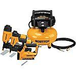 Bostitch 6-Gallon Single Stage Portable Electric Pancake Air Compressor
