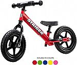 "Strider 12"" Sport Balance Bike $82.50, Micro Kickboard Mini Plus Scooter"