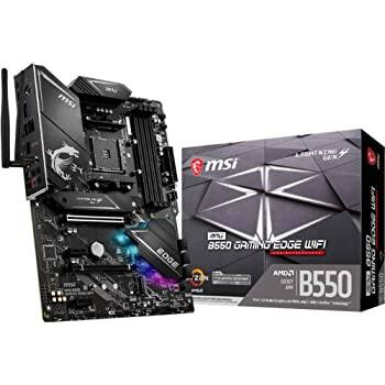 MSI MPG B550 Gaming Edge WiFi Gaming ATX Motherboard