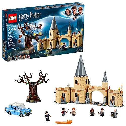 LEGO 6212642 Harry Potter Hogwarts Whomping Willow Building Kit (753 Piece), Multicolor