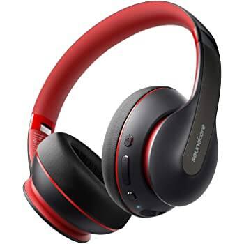 Anker Soundcore Life Q10 Wireless Bluetooth Headphones (Red)