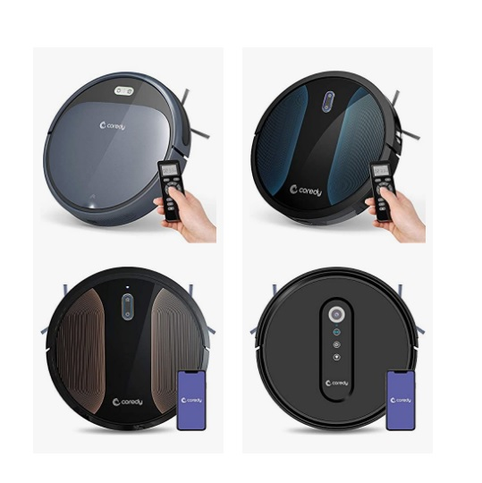 Up to 47% off Coredy Robot Vacuums