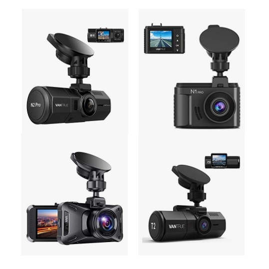 Up to 35% off Vantrue Vehicle Dash Cams