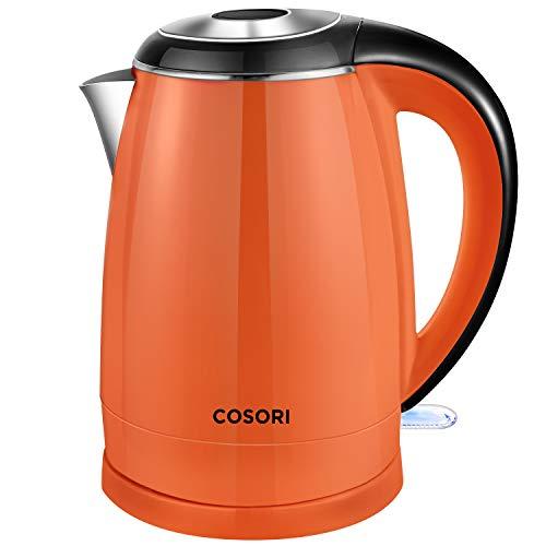 史低价!COSORI CO172 双层不锈钢壁 保温电热壶,1.8 夸脱