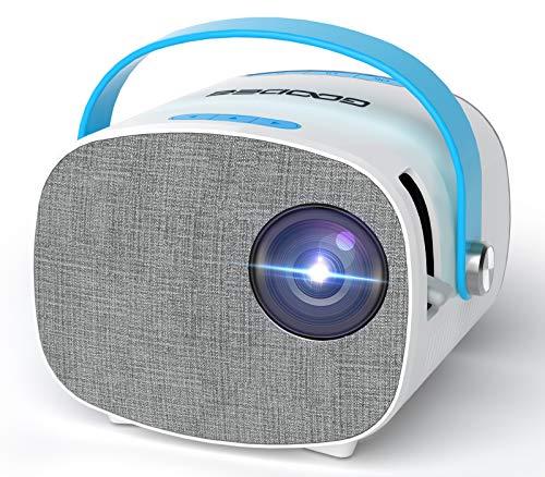 卡哇伊!白菜价!GooDee微型视频投影仪,支持1080P,兼容PS4, 使用折扣码后半价仅售