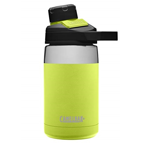 CamelBak Chute Mag Water Bottle, Insulated Stainless Steel 12oz, Lime