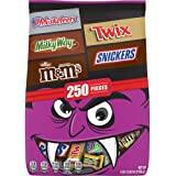 250-Pc Halloween Chocolate Candy Variety Mix (77.58-Oz)