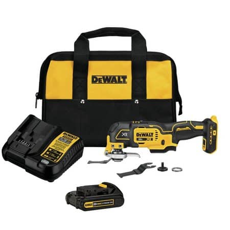 DeWALT 20V MAX XR 3-Speed Oscillating Tool Kit