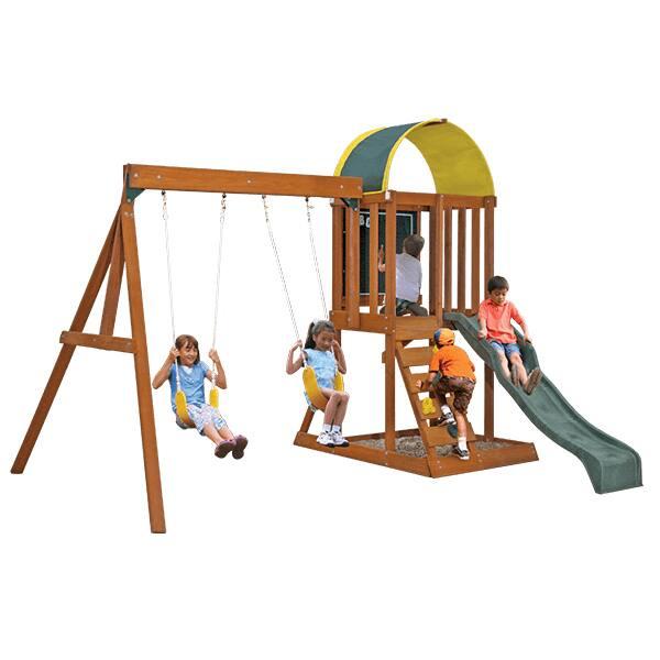 KidKraft Ainsley Wooden Swing Set Playset