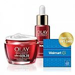 Olay Regenerist 1.7-oz Micro-Sculpting Moisturizer + 1.3-oz Wrinkle Correction Serum