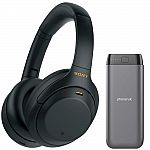 (Starts 12AM ET 10/29) Sony WH-1000XM4 Wireless Noise Canceling Headphones + 20k mAh PowerBank