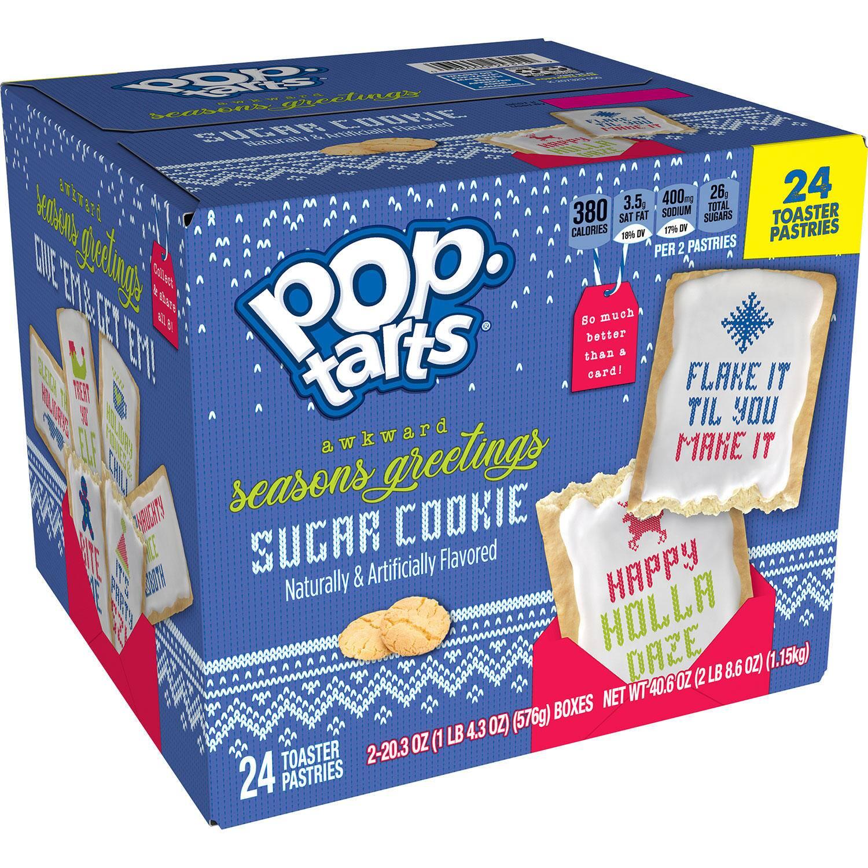Sam's Club Members: 24-Count Kellogg's Pop-Tarts Toaster Pastries (Sugar Cookie)