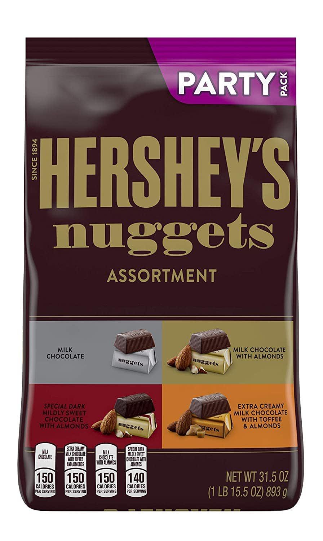 Hershey Nuggets Halloween Candy 31.5-oz. Bulk Party Bag