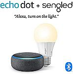 Echo Dot (3rd Gen)  + Sengled Bluetooth bulb