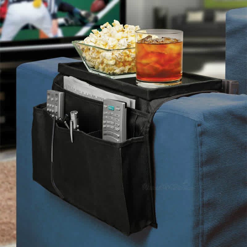 The Couch Caddy Arm Rest Organizer