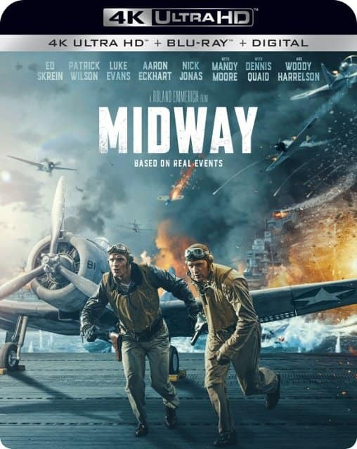Midway (2019) (4K UHD + Blu-ray + Digital)