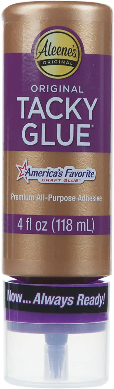 Aleene's Always Ready Tacky Glue 4-oz. Bottle