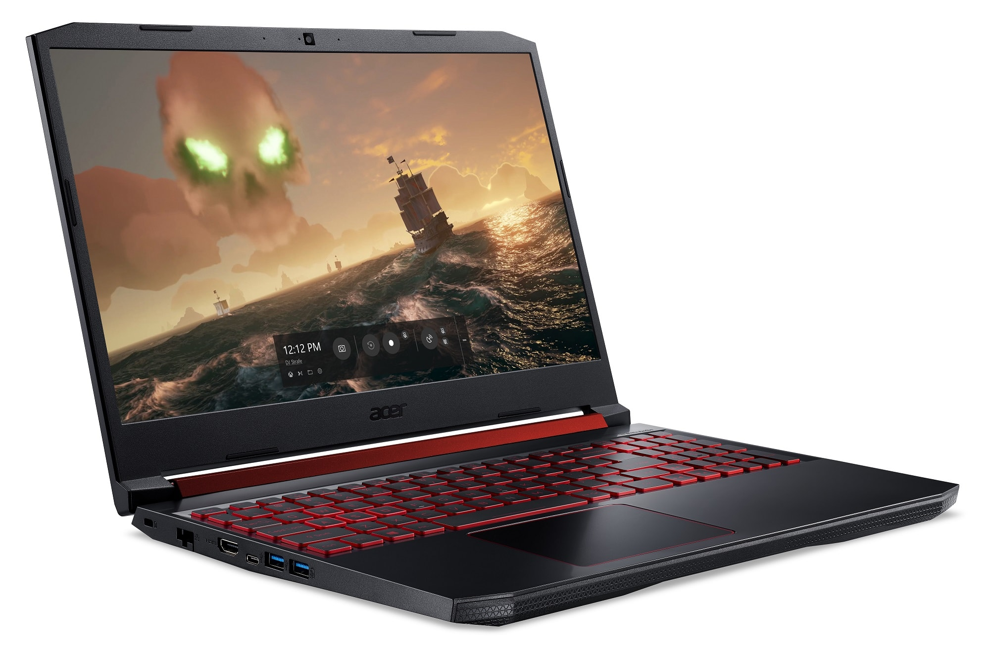 "Acer Nitro 5 Laptop: i5-9300H, 15.6"" 144Hz, 16GB DDR4, 256GB SSD, RTX 2060"