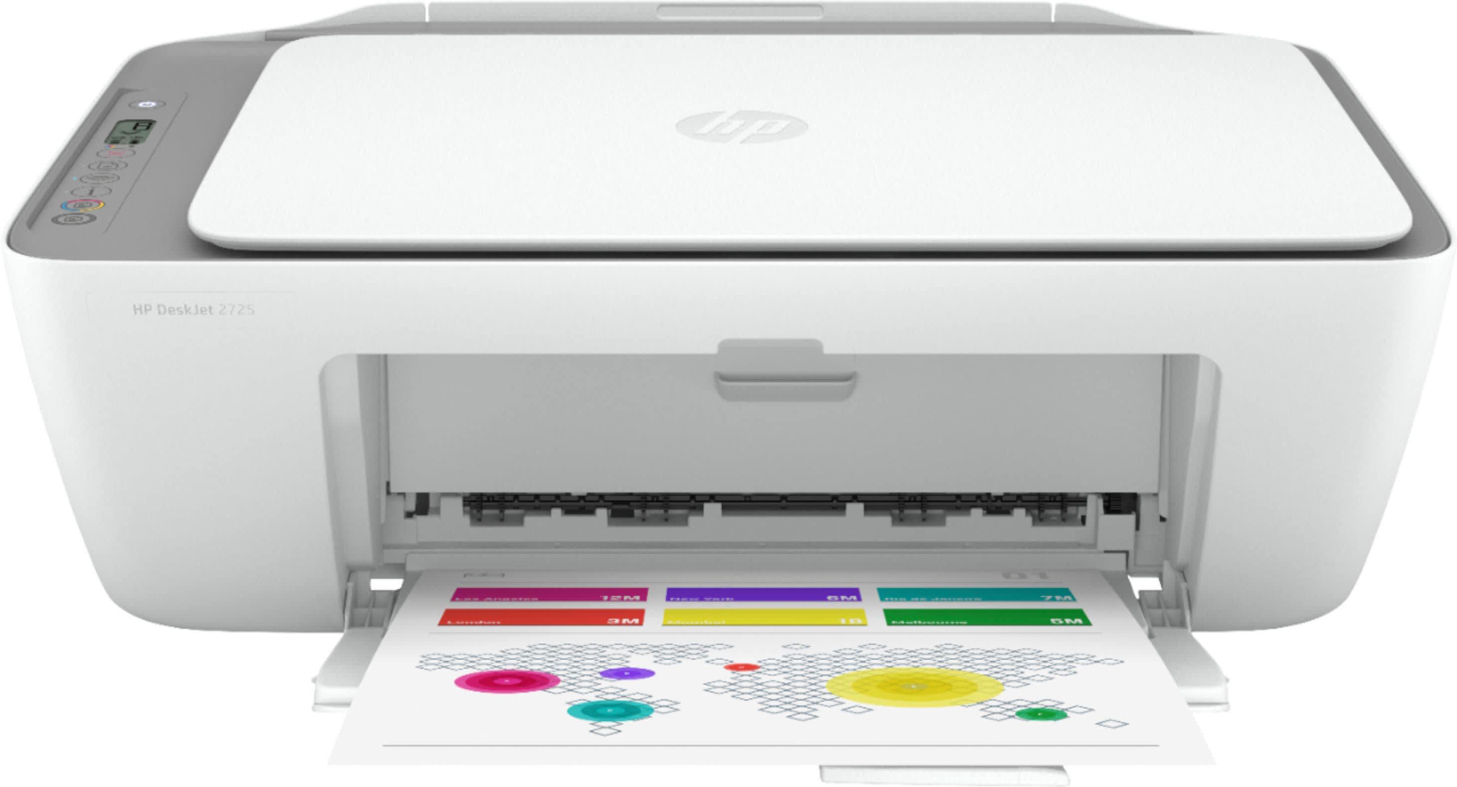 HP DeskJet 2725 All-in-One Wireless Inkjet Printer