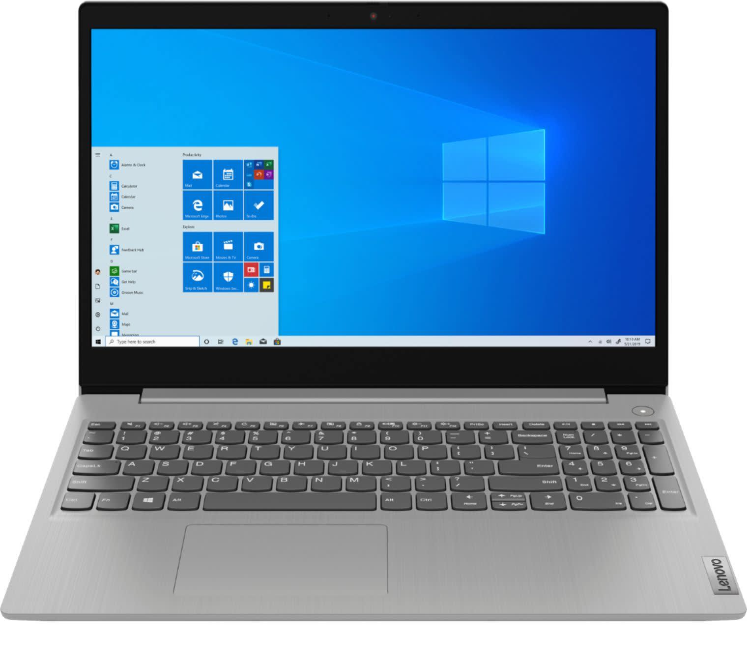 "Lenovo Ideapad 3 10th-Gen. Ice Lake 15.6"" Laptop"