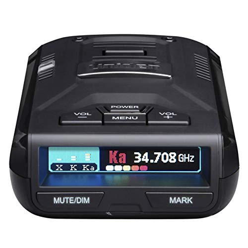 UNIDEN R3 EXTREME LONG RANGE Laser/Radar Detector, Record Shattering Performance, Built-in GPS w/ Mute Memory, Voice Alerts, Red Light & Speed Camera Alerts