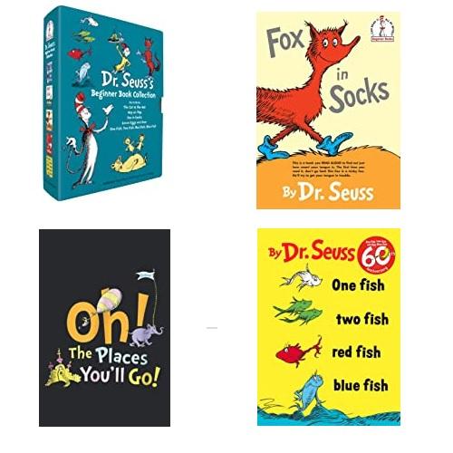 幼儿必读!Amazon上有大量的Dr. Seuss's 苏斯博士 幼儿绘本图书出售!