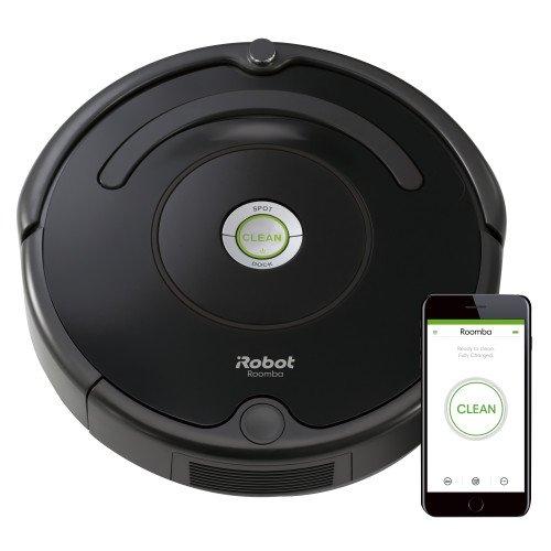 补货!iRobot Roomba 675 扫地机器人,支持WIFI连接