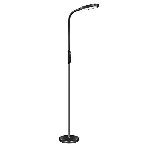 Miroco LED Floor Lamp with 5 Brightness Levels & 3 Color