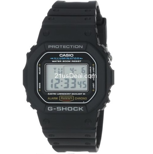 Casio Men's DW5600E-1V G-Shock Classic Digital Watch