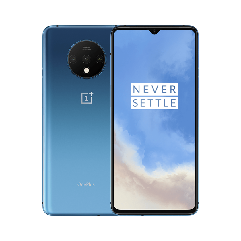 128GB OnePlus 7T T-Mobile Smartphone (Glacier Blue or Frosted Silver)