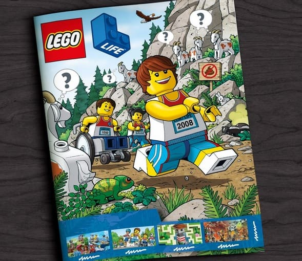 LEGO Life Magazine for Kids (Quarterly Subscription)