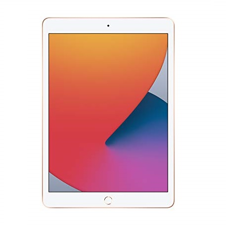 New Apple iPad (10.2-inch, Wi-Fi, 128GB) - Gold (Latest Model, 8th Generation)