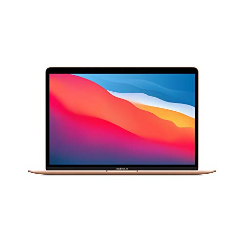 New Apple MacBook Air with Apple M1 Chip(13-inch, 8GB RAM, 512GB SSD Storage) - Gold (Latest Model)