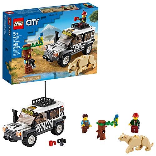 LEGO乐高City城市系列 60267 狩猎越野车