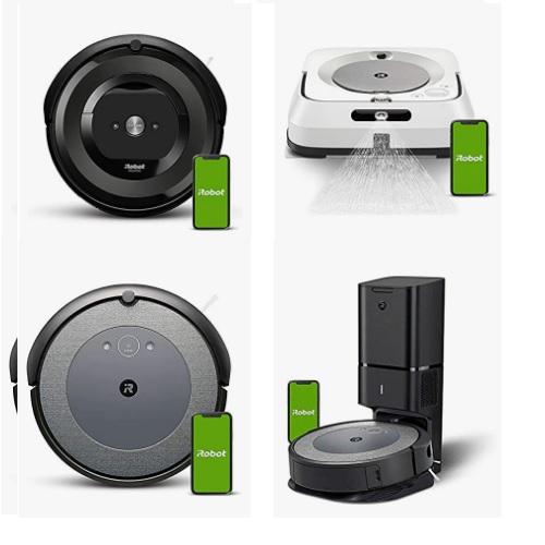 Amazon精选 iRobot 自动扫地机和擦地机节日大促销!