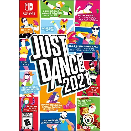 与金盒特价同价! 《Just Dance 2021舞力全开2021》游戏,Nintendo Switch / PS4 / Xbox One /Xbox Series X