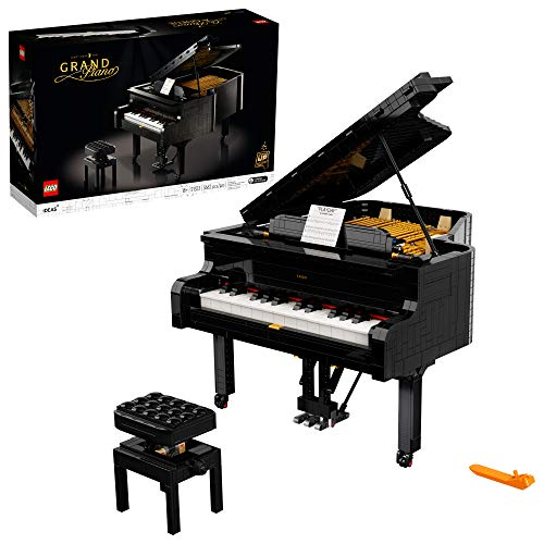 LEGO Ideas Grand Piano 21323 Model Building Kit, Build Your Own Playable Grand Piano, an Exciting DIY Project for The Pianist, Musician, Music-Lover , 3,662 Pieces