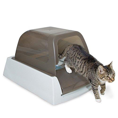 史低价!PetSafe 智能  自动清洁  猫砂盆