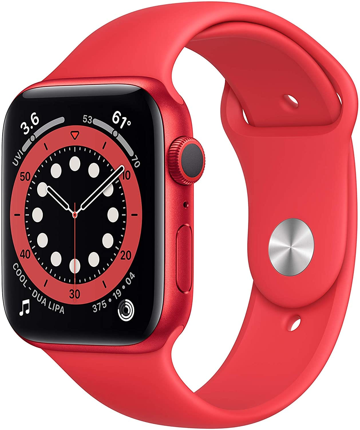 Apple watch Series 6 - 44mm GPS only - blue, red, gold $360