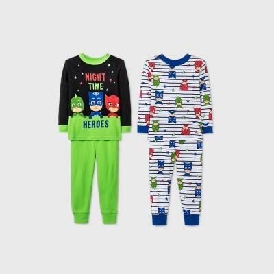 Toddler Pajama Sets: 2-Piece $6, 4-Piece
