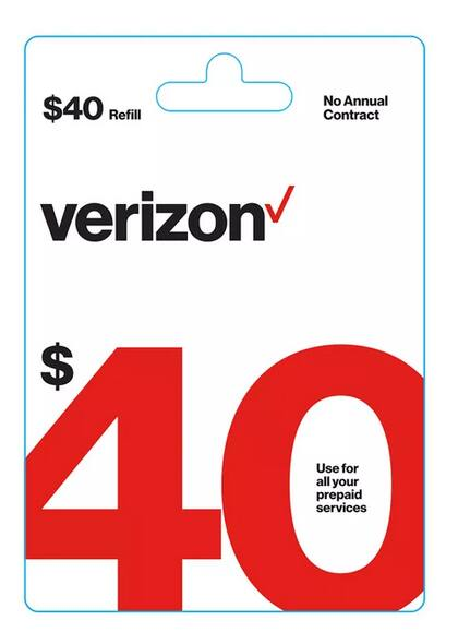 Prepaid Airtime Cards: Verizon, Tracfone, AT&T & More: Buy One, Get One